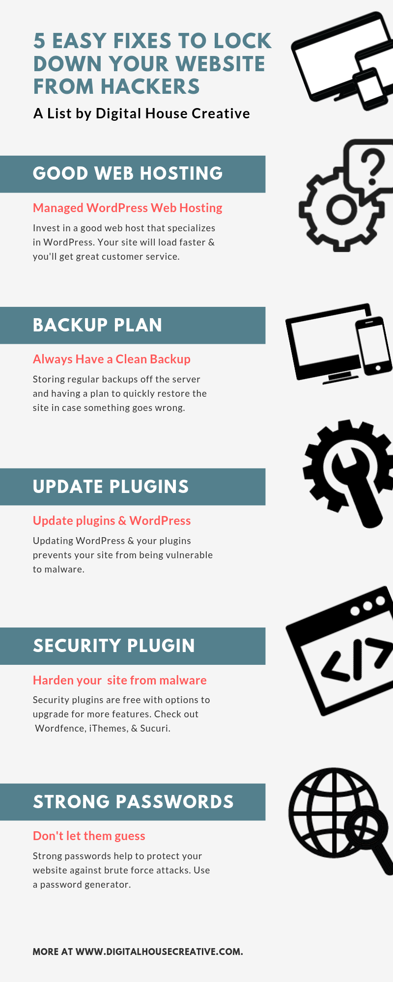 5 easy fixes to lock your site down from malware