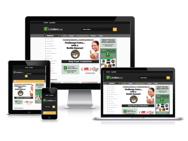 Lindenline WordPress website.