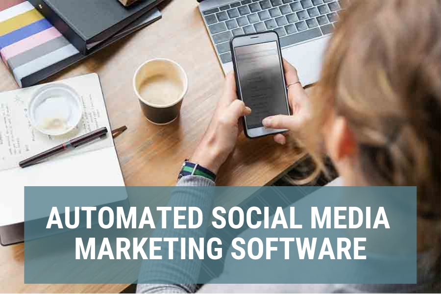 Automated social media marketing software/